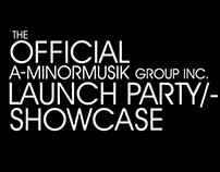 A-MinorMusik Group Official Launch Party Showcase