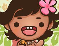 Kawaii Baby Moana