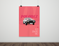Poster series - Legendary cars and moto PRL