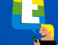 ENTEL ADS ILLUSTRATION