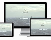 Keynote, portfolio presentation