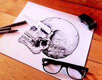 bolt of skull