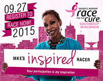 Susan G. Komen - 2015 Race for the Cure Campaign