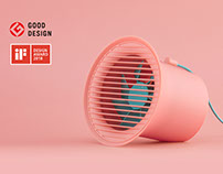 Desktop fan Designed by inDare