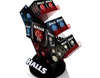 Halls - Counter Display