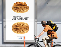 Don't go nuts. Use a helmet.