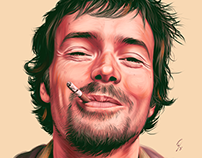 Damien Rice fanart and video of the making