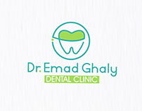 "Dr.Emad Ghaly Logo ""Dental Clinic"""