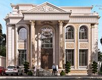 Elegant royal villa new classic style in ksa