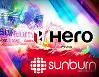 Sunburn Music Festival Intro - Styleframes