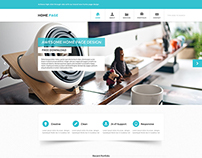 Home.Page - Free PSD Website Template