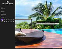 Free Fullscreen WordPress Theme