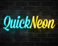 Quick Neon Effect - Free Photoshop Actions