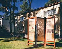 Under ja Tuglas: outdoor exhibition design