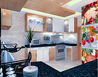 INTERIOR FOR LUXURY KITCHEN