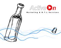 ACTIVE-ON branding & website (2005)