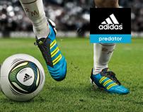 Infografía web: Adidas Predator
