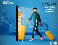 Blue Bus Campaign 2018 Egypt