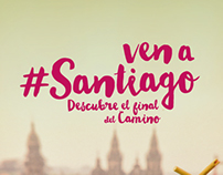 ven a #Santiago (come to #Santiago)
