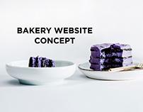 Bakery - Website Concept
