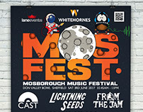 MosFest Poster Design