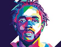 Opposites Attract – Kendrick Lamar Poster Design