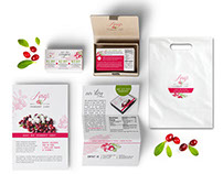 Amy's Cranberry Candy Brand Identity, Packaging & Web