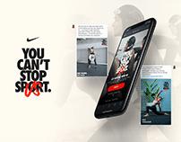 Nike: WhatsApp Me