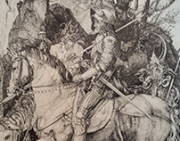 Knight, Death and the Devil (Durer Copy)