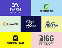 Minimalist Modern Logo Design Bundle-2 (20 Logos Here)