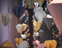 Jewellery Shop Valentines Window Display Props
