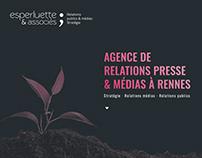 Website Esperluette & Associés