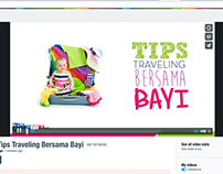 Video Tips Traveling Bersama Bayi