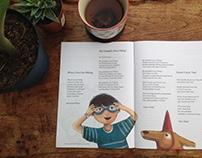 Illustrations featured in The Caterpillar Magazine