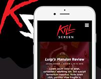KillScreen Website