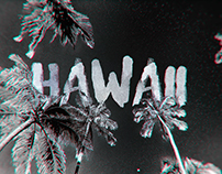 Hawaii in Infrared Stereo