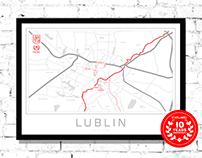 Lublin Mapa i obiekty