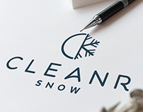 Cleanr Snow Logo