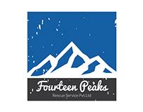 Logo Design    Fourteen Peaks