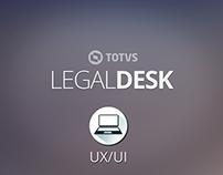 UX/UI: TOTVS | LegalDesk - Módulo Timesheet