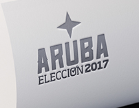 Aruba Election 2017 Magazine Logo