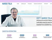 Nardo Tola, Gynecologist website