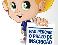 Cartaz Inscrição Escolar 2012/2013