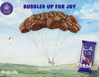 Social Media Posts for Cadbury's Silk
