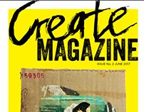 Create magazine / eksamen