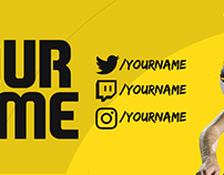 FIFA 17 YouTube Channel Art Template