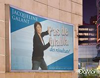 Jacqueline Galant - Political Campaign