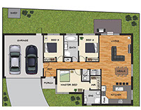 Illustrated Floor Plans - Real Estate Marketing
