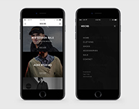MSCN5 / Shopping App / Concept