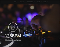 128BPM - Wordpress Music Theme